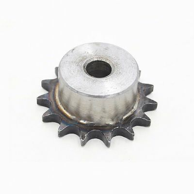 "1Pcs #25 Chain Drive Sprocket 18T Gear 04C 18T Pitch 1/4"" 6.35mm Outer Dia 38mm"