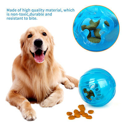 Pet Dog Puppy Cat Snack Feeder Ball Chew Toy Feeding Treat for Training Activity