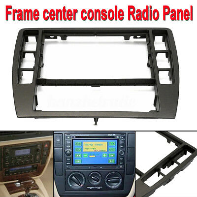 3B0858069 Dash Frame Center Console Radio Panel Trim for 2001-2005 VW Passat B5