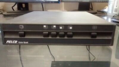 Pelco QD104C Color Video Processor Multiplexer