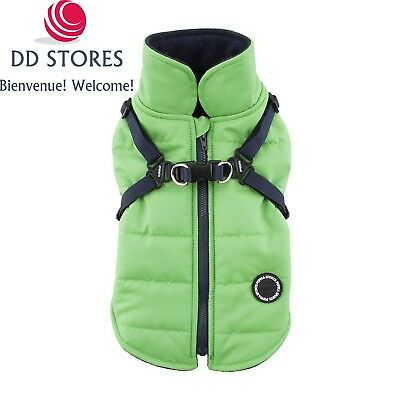 Puppia Mountaineer II Manteau d'Hiver pour Chien Vert Taille XXL