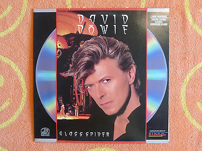 DAVID BOWIE The Glass Spider Tour LASERDISC MPI/Image 1988 Made In Japan