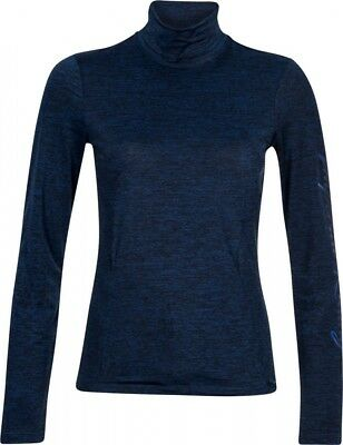 Damen Rollkragenshirt RISK IT Imperial Riding navy melange NEU