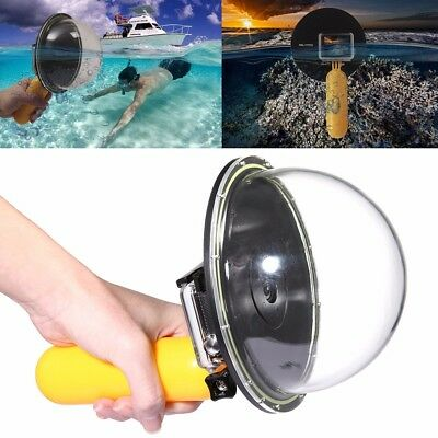 For GoPro 4 Diving Underwater Camera Lens Dome Port Cover Shell Floating Grip