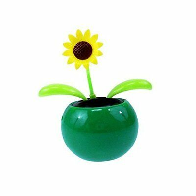 Mini Solar Sunflower Dancing Flower fit for kids toys or gifts