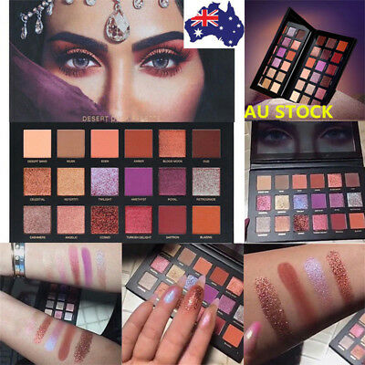 18 Colors Shimmer Matte Eyeshadow Palette Set Eye Shadow Makeup Cosmetic Beauty