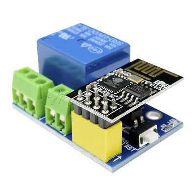ESP8266 ESP-01S 5V WiFi Relaismodul Toi App CONTROLED für Smart Home