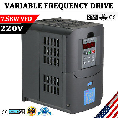 7.5KW 10HP VFD Variable Frequency Drive HY Inverter CNC VSD Single To 3 Phase