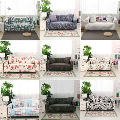 Stretch Fit Sofa Cover Lounge Couch Easy Removable Slipcover Washable 1-4Seater