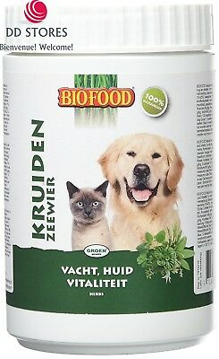 BIOFOOD Herbe Naturelle pour Chien/Chat 450 g