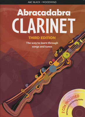 Abracadabra for Clarinet 3rd Edition Sheet Music Book with CDs Learn How To Play