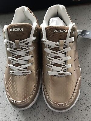 "Xiom ""Kent"" Gold Table Tennis Shoes - ON SALE!"