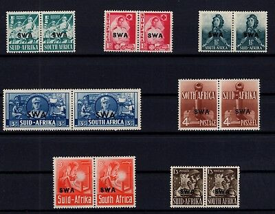 P38042/ South West Africa / Pairs / Sg # 114 / 120 Neufs * / Mh 66 €