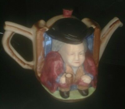 Vintage H J Wood Ltd  tea pot Burslem England