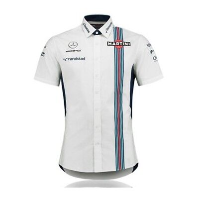 Chemise WILLIAMS MARTINI Racing Team blanche pour homme
