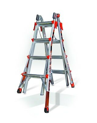 Little Giant Xtreme Aluminium Ladder, Versatile Telescopic Multi-Purpose Ladder