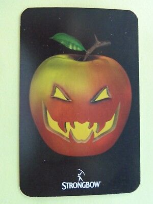 Vintage, Halloween  Swap Playing  Card ;