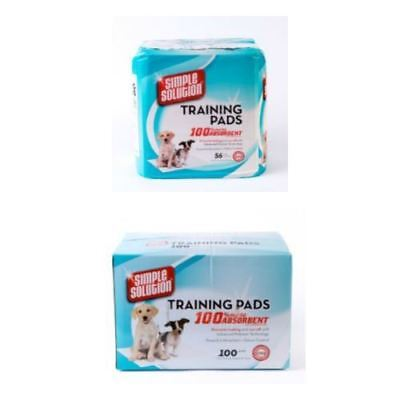 Simple Solutions Puppy Training Pads - 56 Pack & 100 Pack