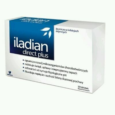 Iladian Direct Plus 10 vaginal capsules