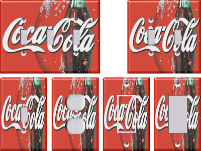 Coca-Cola 2 Coke - Light Switch Covers Home Decor Outlet