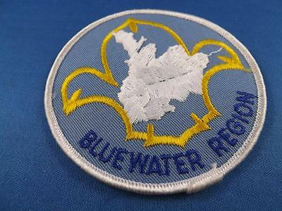 Boy Scouts Bsa Canada Bluewater Region Vintage Patch