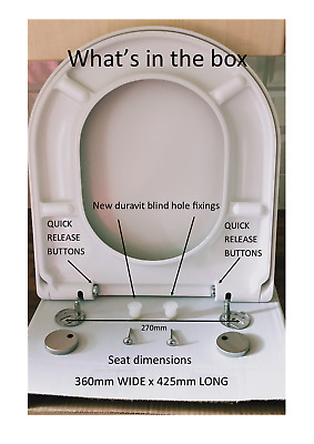 Sensational Toilet Seat Designed To Fit Duravit Starck 3 Soft Close Forskolin Free Trial Chair Design Images Forskolin Free Trialorg