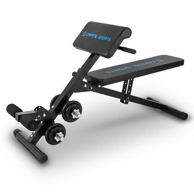 Pro Weight Training Bench Dumbbell Curl Sit Up Machine Gym Fitness Equipment