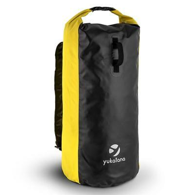70 L Trekking Rucksack Waterproof Windproof Smellproof Pvc Gym Bag Yellow