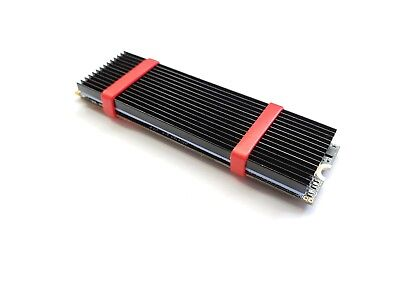 M.2 NGFF NVMe 2280 PCIE SSD Aluminum Cooling Heat Sink With Thermal Pad (Black)