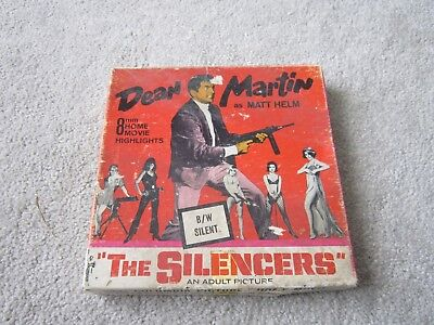 8mm home movie film ,Dean Martin ,The Silencers boxed 1966