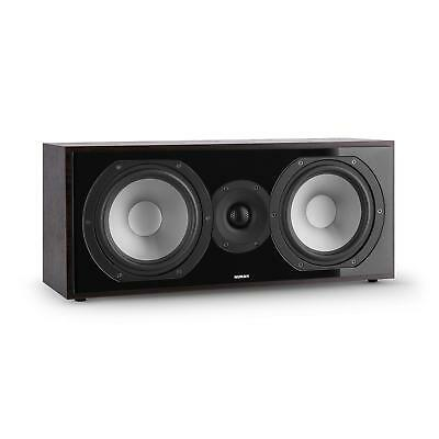 "2 Way Centre Speaker Home Cinema Hifi Amplifier 6.5"" Woofer Rosewood Wall Mount"
