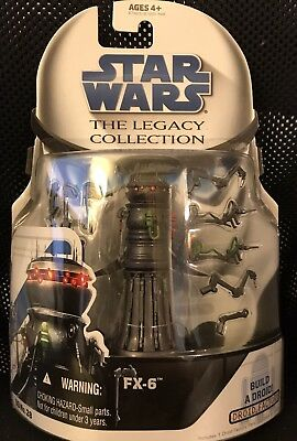 STAR WARS Legacy Collection 2008 FX-6 MEDICAL DROID Action Figure MOC ROTS