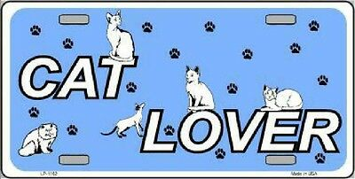 Cat Lover  Decorative Sign Tag
