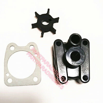 Impeller and water pump for NEW Yamaha F6SMHA 6HP 4 stroke outboard motor engine