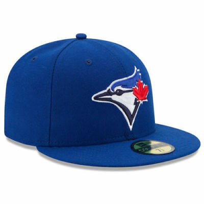 TORONTO BLUE JAYS New Era 5950 Navy MLB Cap Fitted On Field Game Hat