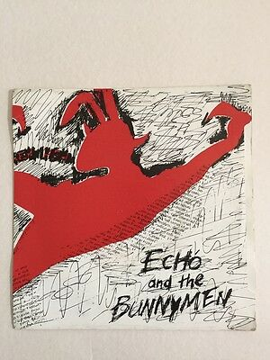 Echo and the Bunnymen, The Pictures on My wall / Read It In Books - 1979