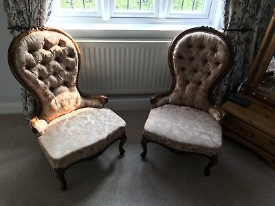 Spoon Back Chair A Pair Of .