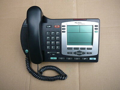 Nortel I2004 NTDU92 IP Business Phone with Handset and Base