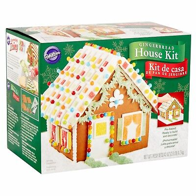 Wilton Christmas Gingerbread House Kit Includes ready made gingerbread pieces