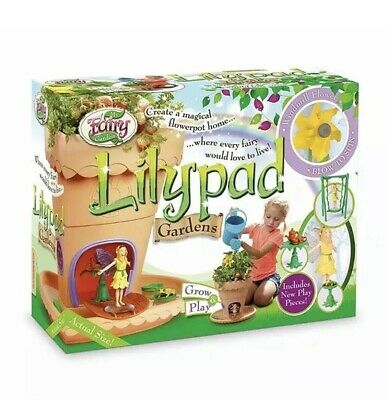My Fairy Garden - Lilypad - Grow & Play Set Craft Playset Magical Gift