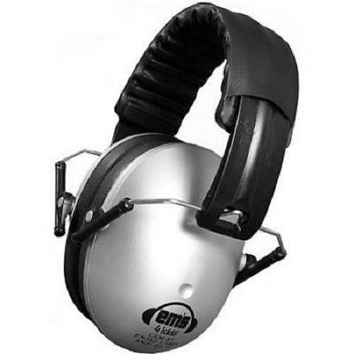 Baby Infant Toddler Em's 4 Kids Hearing Noise Protection Earmuffs Silver CEM-S1