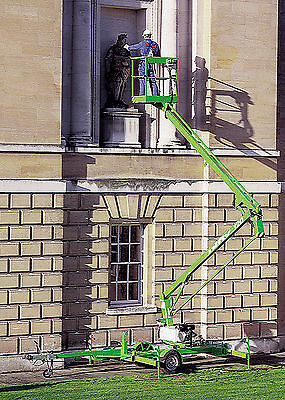 Niftylift TM34MG Towable Boom Manlift, 40' Work Height, GAS Powered