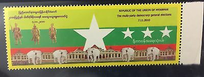 Myanmar 2010 Commemorative of Elections MNH