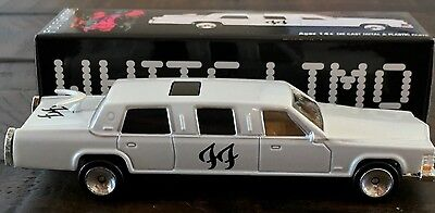 New Sold Out Foo Fighters WHITE LIMO Die-Cast Car Drove by Lemmy Limited Edition
