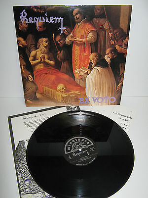REQUIEM – Ex Voto – MINT vinyl LP – Mario 'The Black' Di Donato