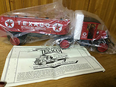 1920 Pierce Arrow Texaco Cab With Tanker -- Box Of 15