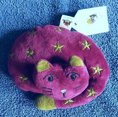 New Jellycat Small I Am Cat Nap Purple Cat Kitten Plush Soft Toy Free Uk P&p