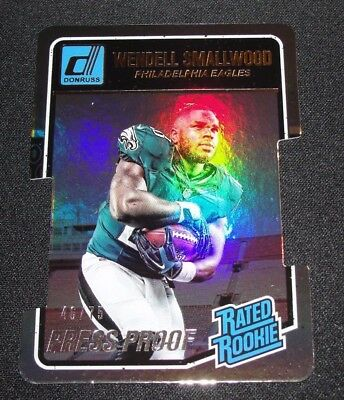 2016 Panini Donruss WENDELL SMALLWOOD #399 Silver Rated Rookie Die Cut/75 EAGLES