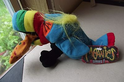 Meanies Series 1 Hurley The Toucan Vintage 1997 Puking Bird Plush Collectible To