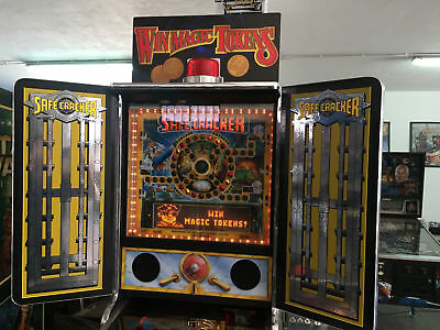Safe Cracker Pinball Machine Topper - Win Magic Tokens Topper